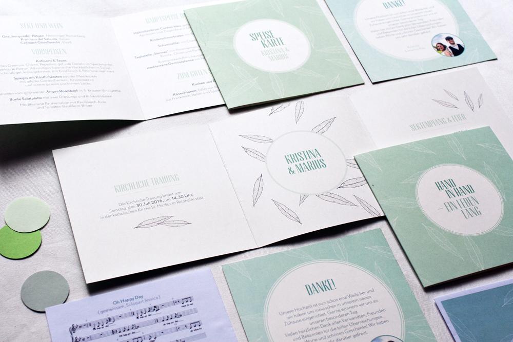 Design Hand in Hand konfettirausch Papeterie Mint