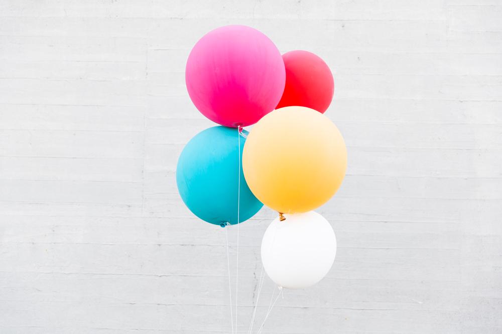 Deko DisOui Hochzeit Luftballons bunt Dekoration