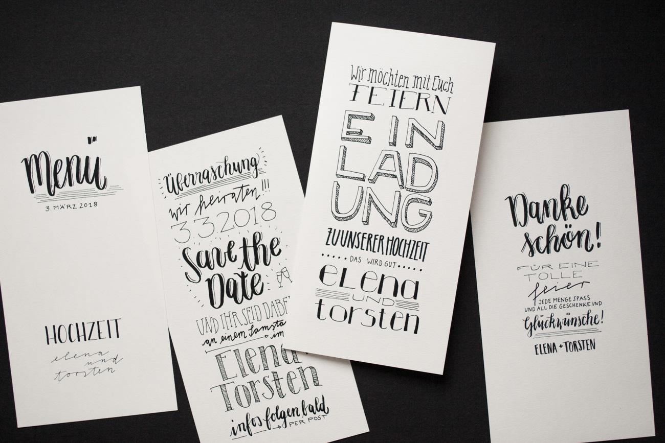 Design Letter Love Hochzeit Produkte Handlettering