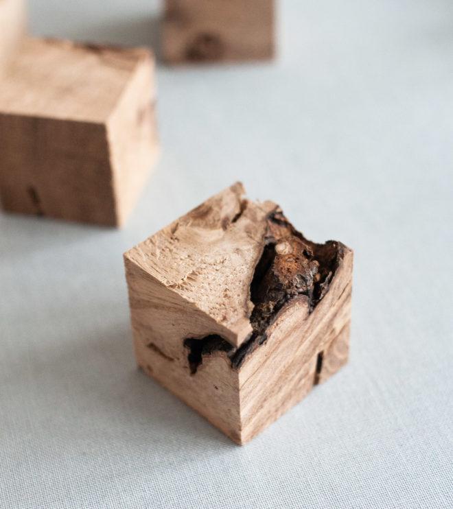 Kartenhalter für Platzkarten aus Holz